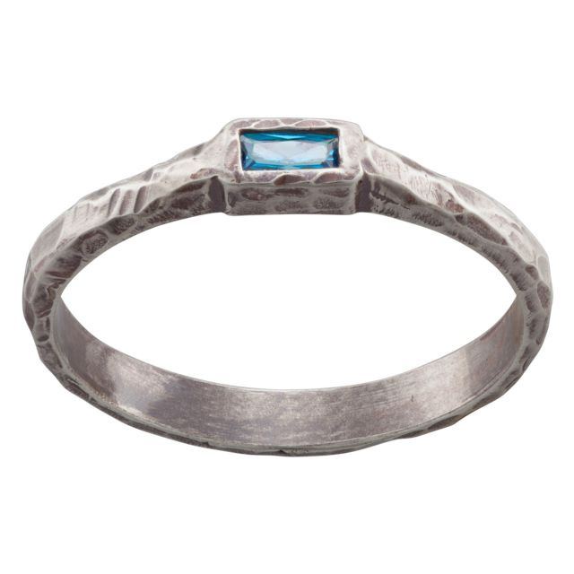 Sandra Magsamen Sterling Silver Petite Stackable Ring